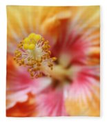 Ko Aloha Makamae E Ipo Aloalo Exotic Tropical Hibiscus Maui Hawaii Fleece Blanket