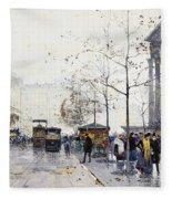 La Madeleine Paris Fleece Blanket