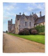 Lacock Abbey Fleece Blanket