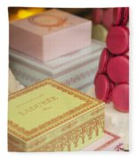Laduree Sweets Fleece Blanket