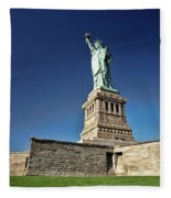 Lady Liberty 2 Fleece Blanket