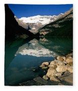 Lake Louise Iv Fleece Blanket