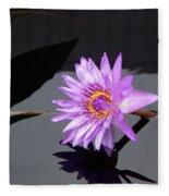 Lavender Lily Fleece Blanket
