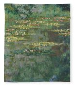 Le Bassin Des Nympheas Fleece Blanket