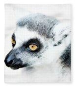 Lemur Fleece Blanket