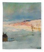 Levis From Quebec Fleece Blanket