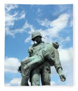 Liberation Monument Fleece Blanket