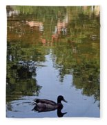 Living In Reflections Fleece Blanket
