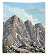 Lofty Peaks Fleece Blanket