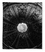 Looking Up Siena Cathedral 2 Fleece Blanket