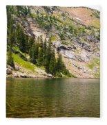 Lower Crater Lake Fleece Blanket