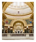 Madison Capitol Fleece Blanket