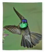 Magnificent Hummingbird Fleece Blanket