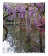 Magnolia Plantation Gardens Series II Fleece Blanket