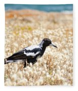 Magpie Fleece Blanket