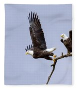 Majestic Beauty 2 Fleece Blanket