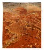 Mammoth Hot Springs Fleece Blanket