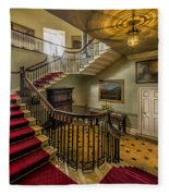 Mansion Stairway Fleece Blanket