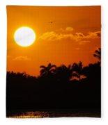 Marco Island Sunset Fleece Blanket