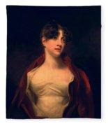 Margaret Moncrieff Fleece Blanket