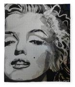 Marilyn Monroe 01 Fleece Blanket