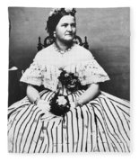 Mary Todd Lincoln (1818-1882) Fleece Blanket