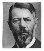Max Weber (1864-1920) Fleece Blanket