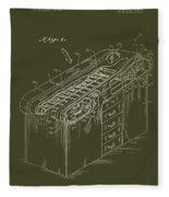 Medical Examining Table Patent 1974 Fleece Blanket