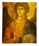 Michael The Archangel Fleece Blanket