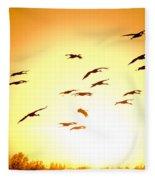 Migration Fleece Blanket