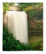 Minnehaha Falls Fleece Blanket