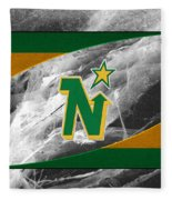 Minnesota North Stars Fleece Blanket