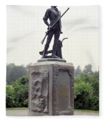 Minutemen Soldier Fleece Blanket