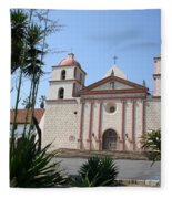 Mission Santa Barbara Fleece Blanket