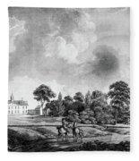 Mount Vernon, 1798 Fleece Blanket