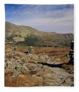 Mount Washington - White Mountains New Hampshire Fleece Blanket