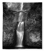 Multnomah Falls Fleece Blanket