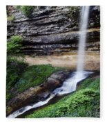 Munising Falls Fleece Blanket