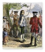 Nathan Hale (1755-1776) Fleece Blanket