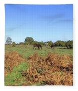 New Forest Fleece Blanket