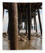 New Photographic Art Print For Sale Paradise Cove Fleece Blanket