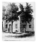 New York Senate, 1777 Fleece Blanket