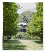 Norfolk Botanical Garden 1 Fleece Blanket