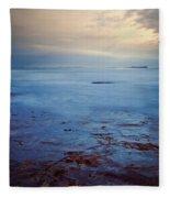 Northumberland Coast Fleece Blanket