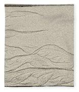 Ocean Sand Art Fleece Blanket