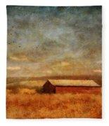 October Afternoon Fleece Blanket