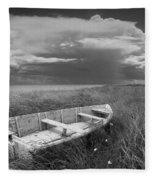Of Land Sea And Sky Fleece Blanket