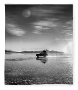 Off Road Uyuni Salt Flat Tour Select Focus Fleece Blanket