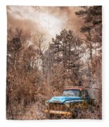 Old Chevy Fleece Blanket