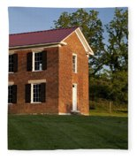 Old Schoolhouse Fleece Blanket
